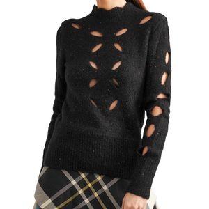 Isabel Marant Cutout Ilia Alpaca Blend Sweater - S